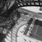 André Kertész, la Tour Eiffel