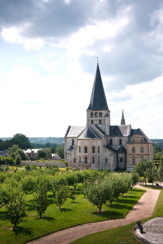 Abbaye Saint Georges de Boscherville (Seine-Maritime)