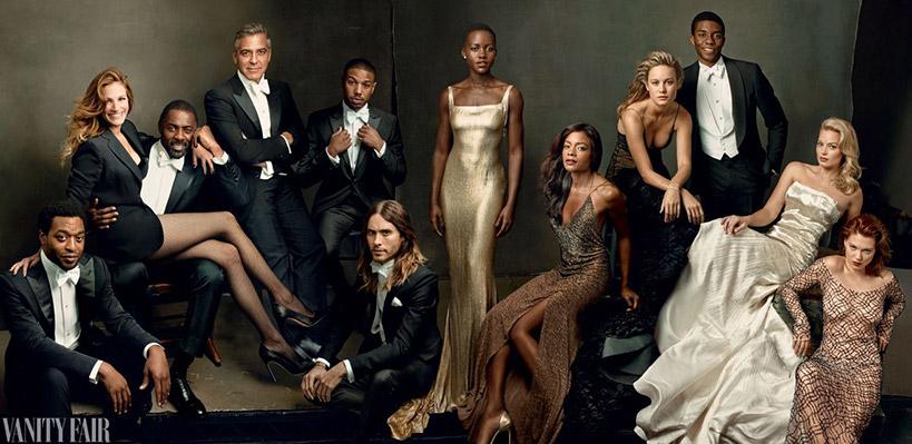 Annie Leibovitz - Family Portrait pour Vanity Fair