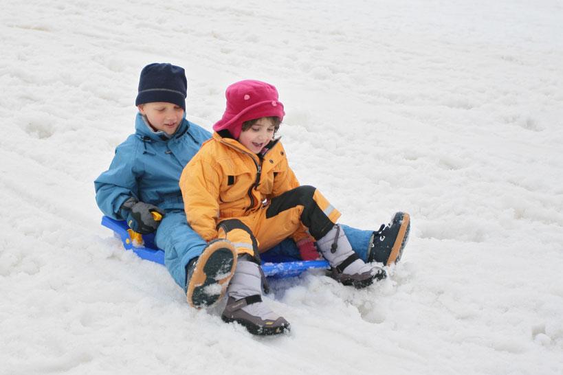 Correction d'exposition sur la neige : surexposition