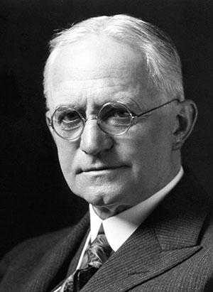 Portrait de George Eastman, fondateur de Kodak