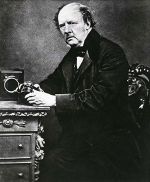 Portrait de William Henry Fox Talbot, inventeur du calotype