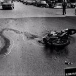 Letizia Battaglia - Portrait de Rosaria Schifani - Assassinat à la moto