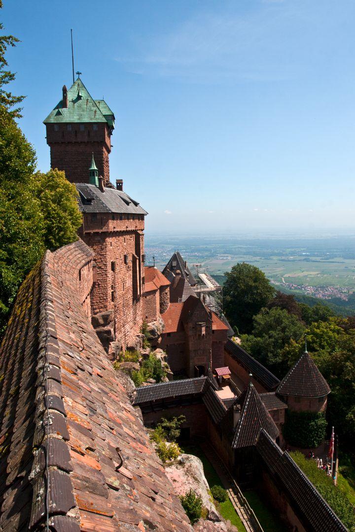 Alsace : Château du Haut Kœnigsbourg et villages typiques